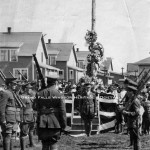 First Memorial Day Ceremonies at Grand Falls. July 1, 1919