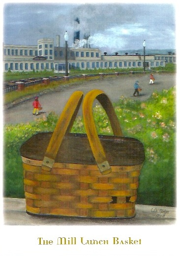GFW Heritage Society The Mill Lunch Basket Card