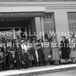 Mill - Ladies Visiting Day. First in History of Company. August 29, 1956